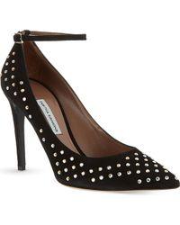 Tabitha Simmons Sable Crystal Studded Stilettos - Lyst