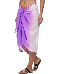 Seafolly Splendour Sarong Cover-Up - Lyst