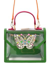 Shourouk Acapulco Pvc Bag With Butterfly Detail - Lyst
