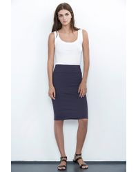 Velvet By Graham & Spencer Sintia Pencil Skirt - Lyst