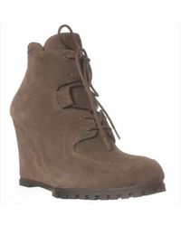 Steve Madden | Steven By Wardin Wedge Boot | Lyst