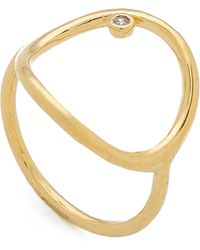 Tai - Circle Ring - Lyst