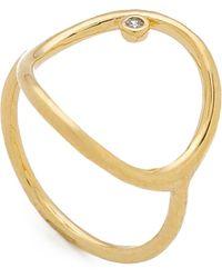 Tai - Circle Ring - Lyst