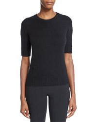 Agnona - Cashmere Sweater W/lipstick Pocket - Lyst