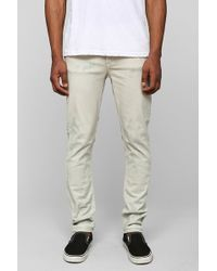 Cheap Monday Dirty White Skinny Jean - Lyst