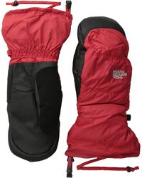 The North Face Red Nuptse Mitt - Lyst