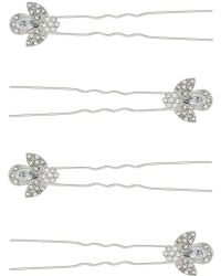 Accessorize - 4 X Lady Mary Hair Pins - Lyst