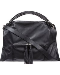 Sandro Adel Medium Handbag Black - Lyst