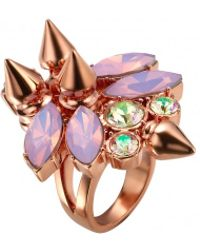 Mawi Firefly Ring with Spikes - Lyst