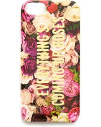 Kate Spade Everythings Coming Up Roses Iphone 5 5s Case Multi - Lyst