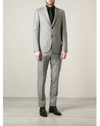 Gucci Stitch Detail Suit - Lyst