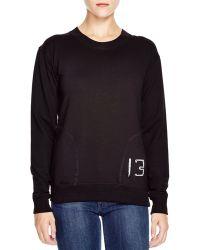 Umano - - The 13 Long Sleeve Fleece Top - Lyst