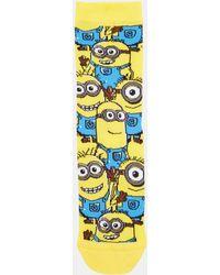 Asos Multicolor Minion Socks - Lyst