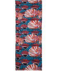 Melindagloss Multicolor 'Ocean' Scarf - Lyst