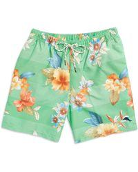 Tommy Bahama Hawaiian Print Swim Shorts - Lyst