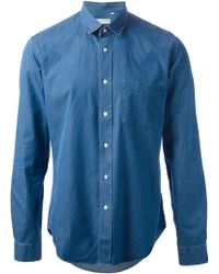 Mr Start | Denim Shirt | Lyst