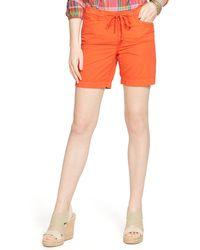 Ralph Lauren Drawcord Chino Short orange - Lyst