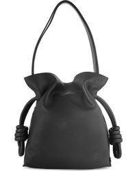 Loewe Flamenco Knot Calf-leather Small Bag - Lyst