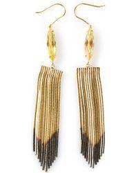 Iosselliani Fringed Earrings - Lyst