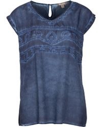 Sandwich - Embroidered Top - Lyst