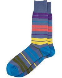 Paul Smith Batt Striped Socks - Lyst