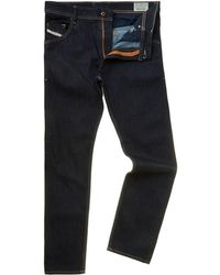 Diesel Krayver 607a Low Waist Carrot Jeans - Lyst
