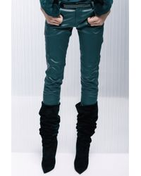 Alexandre Vauthier | Stretch Leather Pants | Lyst