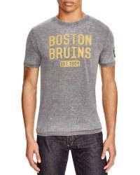 Red Jacket - Boston Bruins Vintage Tee - Lyst