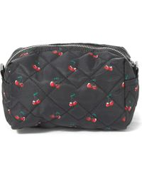 Marc By Marc Jacobs - Large Red Crosby Fruit Quilted Cosmetics Bag - Lyst