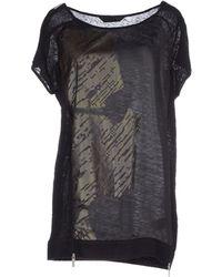 Karl By Karl Lagerfeld T-Shirt black - Lyst