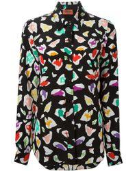 Missoni Print Shirt - Lyst