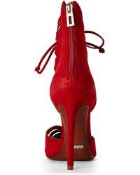 Schutz Red Nadley Heels - Lyst