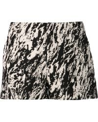 Rag & Bone White Print Shorts - Lyst