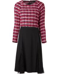 Thakoon Side Pleat Lace Dress - Lyst