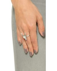 House of Harlow 1960 - Turkana Ring - Silver - Lyst