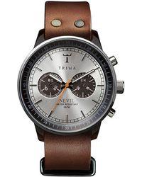 Triwa - Watch In Nevil Havana Brown - Lyst