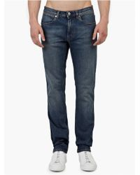 Acne Studios Vintage Blue 'Max' Slim-Fit Jeans blue - Lyst