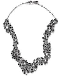 St. John - 'night Bloom' Laurel Crystal Collar Necklace - Lyst