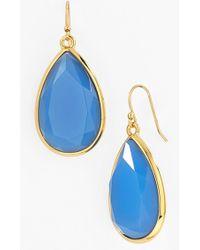 Kate Spade 'Day Tripper' Teardrop Earrings - Ocean Blue - Lyst
