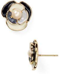 Kate Spade Deco Blossom Stud Earrings - Lyst