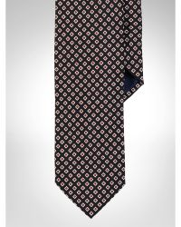 Polo Ralph Lauren Silk Foulard Narrow Tie - Lyst