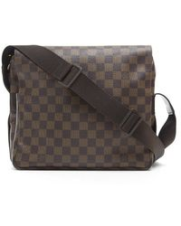 Louis Vuitton Preowned Naviglio Crossbody Messenger Bag - Lyst