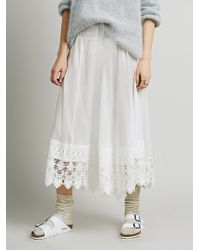 Free People Lay Low Pieced Pant - Lyst