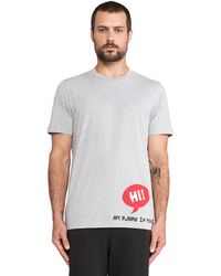 Y-3 Hi Graphic Tee - Lyst