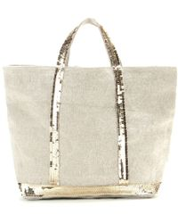 Vanessa Bruno Cabas Moyen Canvas Shopper - Lyst