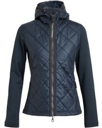 Frauenschuh - Jackie Quilted Nylon and Neoprene Jacket - Lyst