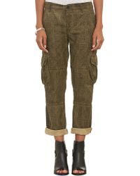 Nsf Clothing Check Print Cargo Pants - Lyst