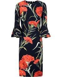 Dolce & Gabbana Red Short Dress - Lyst