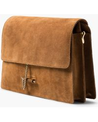 Mango | Suede Across Body Bag | Lyst