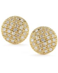 Dana Rebecca - Lauren Joy Medium Earring In Yellow Gold - Lyst